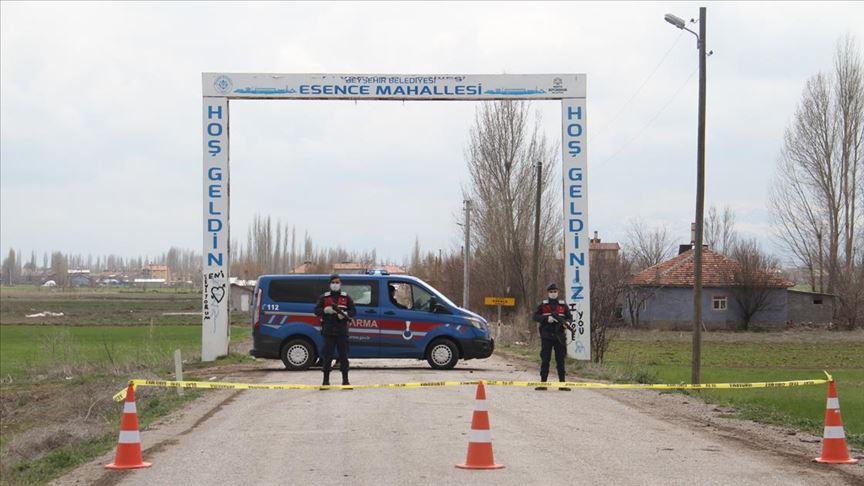 Konya'da bir mahalle karantinaya alındı!