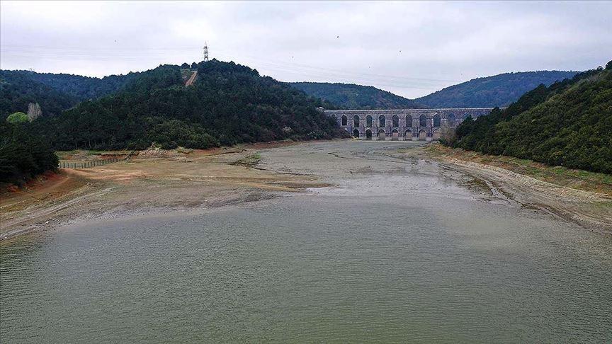 İstanbul barajları alarm vermeye başladı