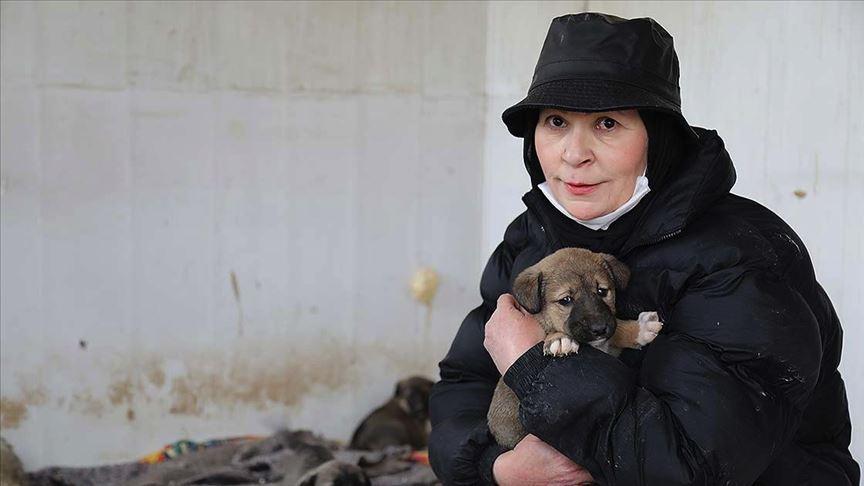 Anne ve babasını kaybettikten sonra hayatını sokak hayvanlarına adadı