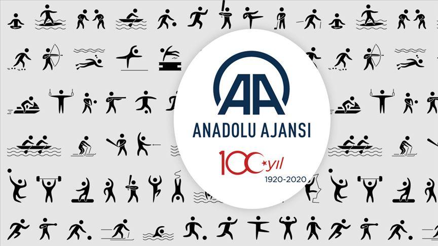 Spor dünyası AA'nın 100. Yaşını kutladı!
