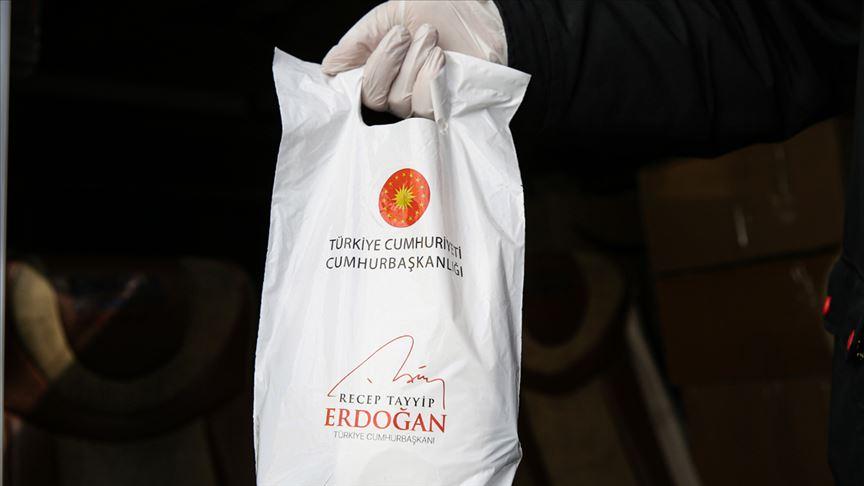 Erdoğan, maske ve kolonya dağıtımı yapılan 65 yaş ve üstü vatandaşlara hitaben mektup kaleme aldı
