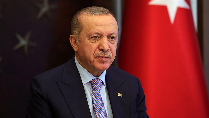 Erdoğan, Diyarbakır'da şehit olan vatandaşların ailelerine başsağlığı mesajı gönderdi