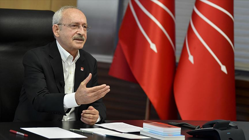 Kılıçdaroğlu, üniversite öğrencileriyle video konferansla görüştü!