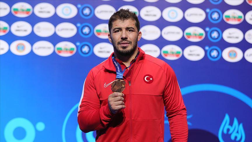 Milli güreşçi Cenk İldem: Tek hedefim ve hayalim olimpiyat altın madalyası