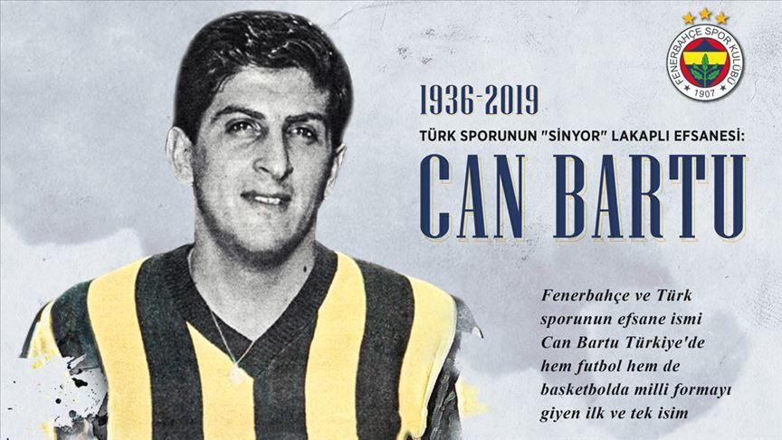Türk sporunun 'Sinyor' lakaplı efsanesi: Can Bartu