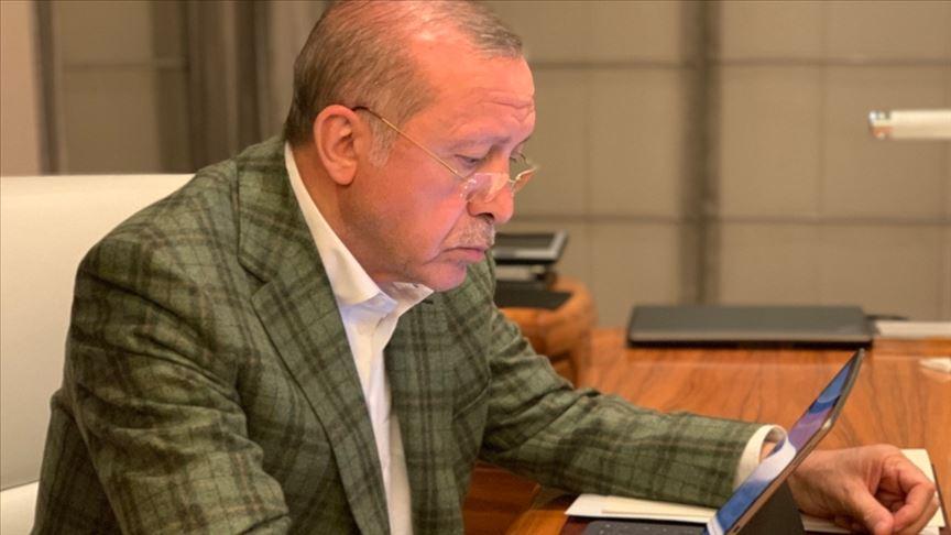 İletişim Başkanı Altun'dan Cumhurbaşkanı Erdoğan paylaşımı