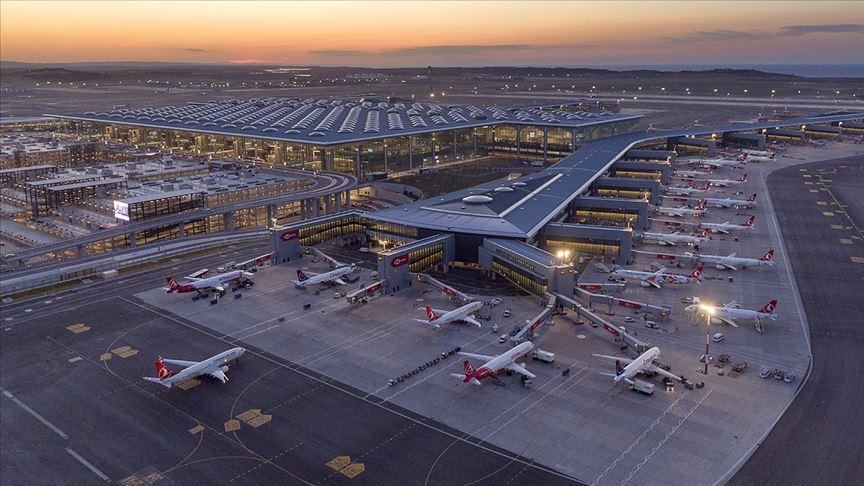 İstanbul Havalimanı'nda, Kovid-19 sürecinde koruyucu ve önleyici periyodik bakım sürüyor
