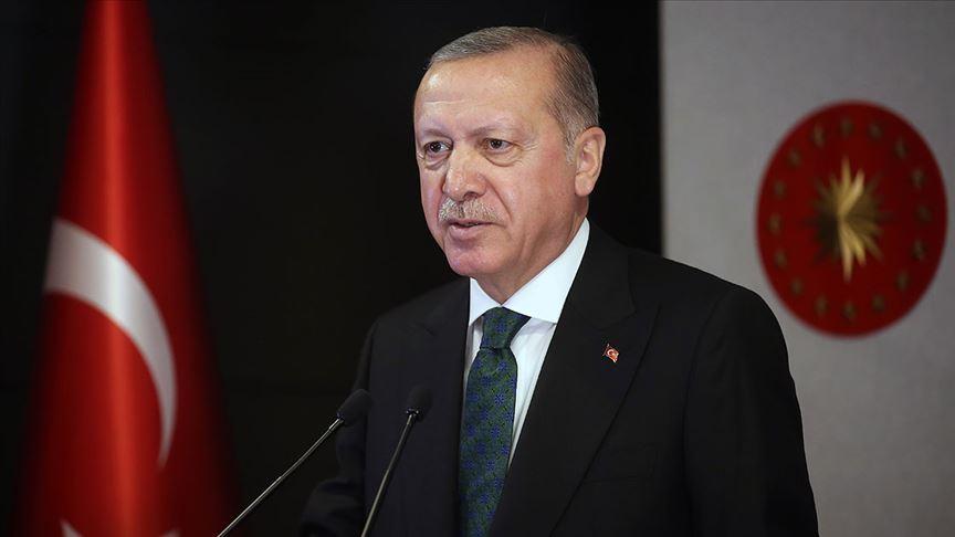 Erdoğan: İslam aleminin ve milletimizin mübarek Ramazan Bayramı'nı tebrik ediyorum
