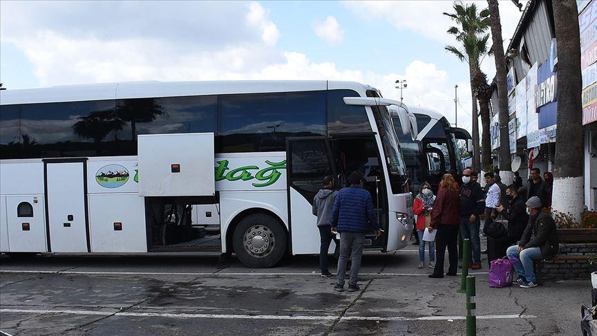 Şehirler arası otobüsler sefere hazır bekliyor!
