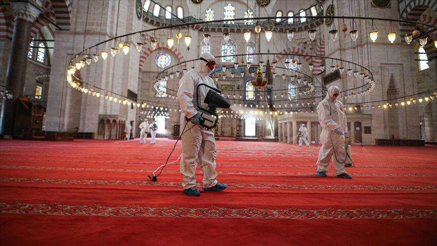 İstanbul'un camilerindeki mahzunluk yarın yerini sevince bırakacak!