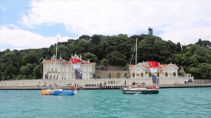 Fetih coşkusu İstanbul Boğazı'ndaydı...