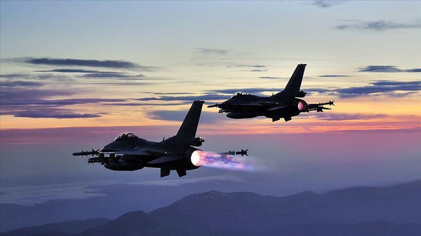 3 PKK'lı terörist hava harekatlarıyla etkisiz hale getirildi