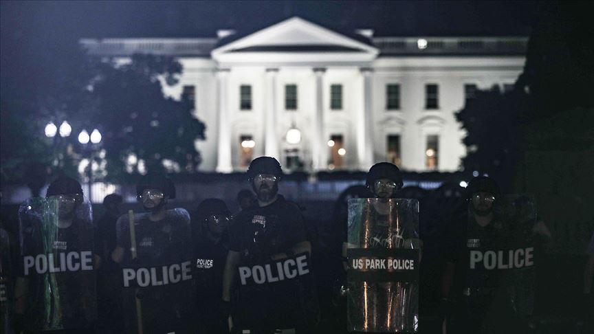 Beyaz Saray önündeki protestolar sırasında Trump'ın sığınağa götürüldüğü iddia edildi