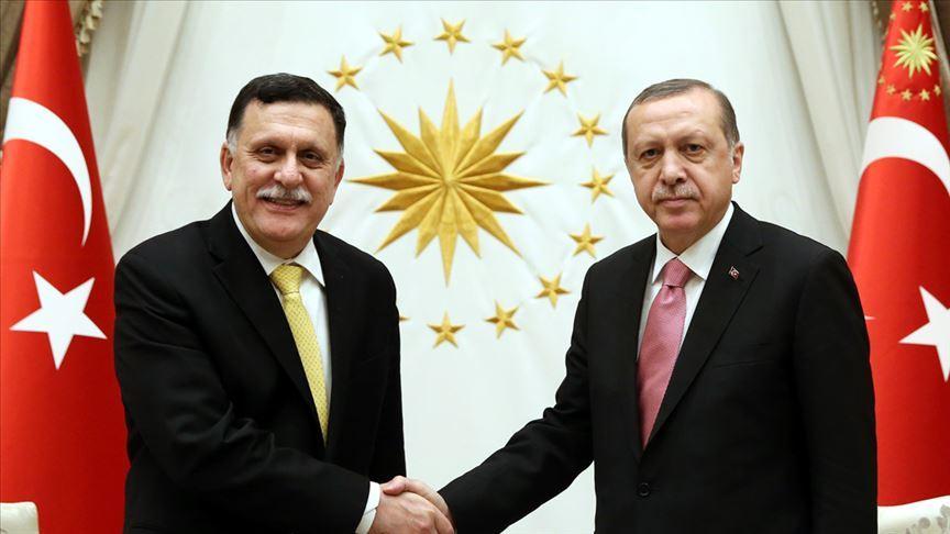 Erdoğan, Libya Ulusal Mutabakat Hükümeti Başbakanı Serrac'ı kabul edecek!
