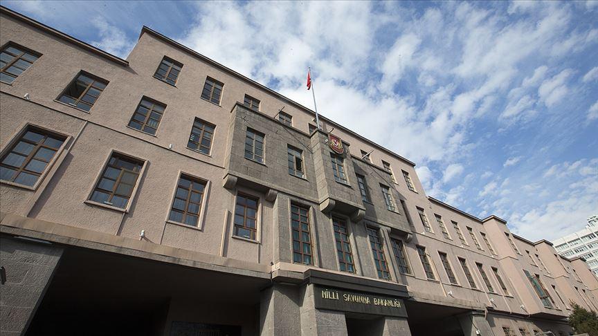 MSB: Pençe-Kaplan Operasyonu bölgesinde 1 asker şehit oldu