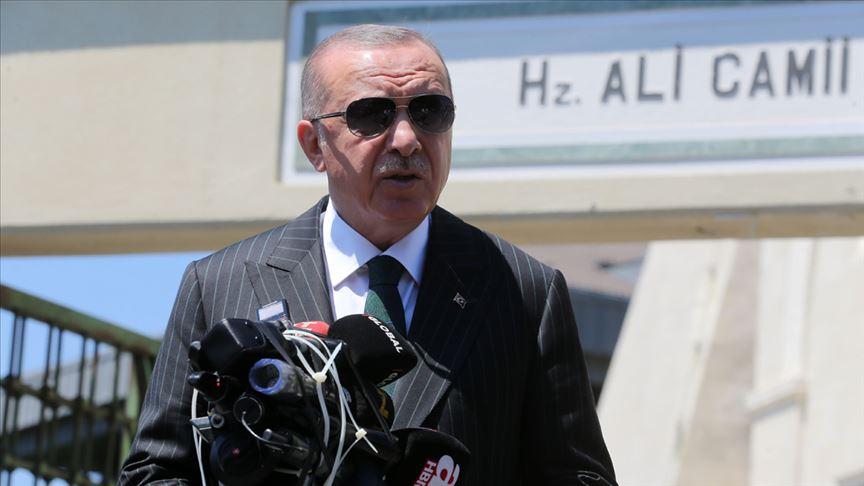 Erdoğan: (Sakarya'daki patlama) Her türlü tedbir alınmış vaziyette!