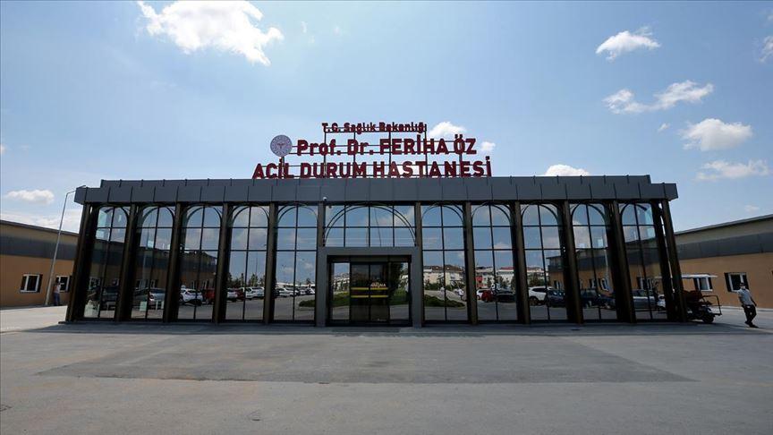 Kovid-19 ile savaşın yeni cephesi: Prof. Dr. Feriha Öz Acil Durum Hastanesi