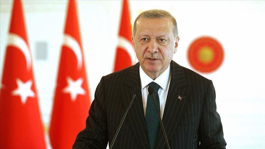 """""""Ülkemize karşı Doğu Akdeniz'de kurulmaya çalışılan oyunları ve tuzakları yerle bir ettik"""""""