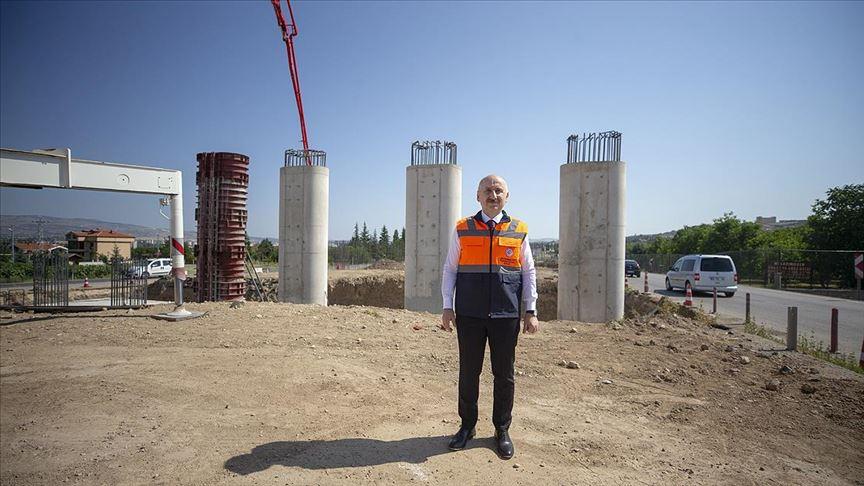"""""""Ankara-Kahramankazan yolu en kısa sürede hizmete sunulacak!"""""""