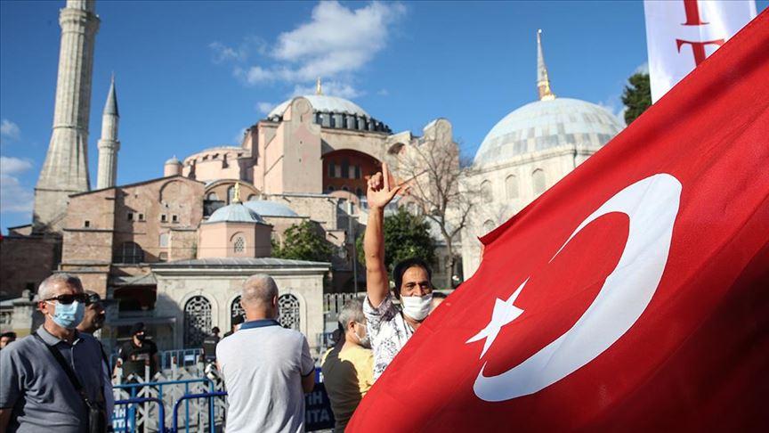 Danıştayın 'Ayasofya' kararına dünyadan destek