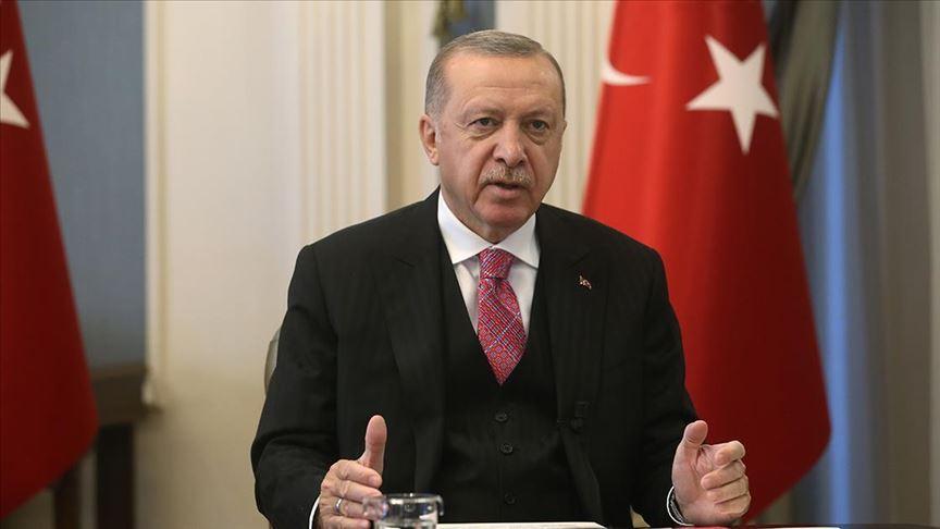 Cumhurbaşkanı Erdoğan: Ne şehitlerimizi unutacak ne de Srebrenitsa soykırımını unutturacağız