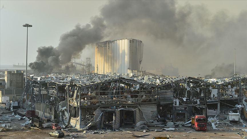 Lübnan, Beyrut Limanı'ndaki 'tarihi' patlamanın şokunu yaşıyor!