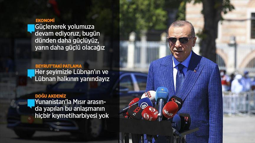 Cumhurbaşkanı Erdoğan: Kalkınmamızı devam ettireceğiz!