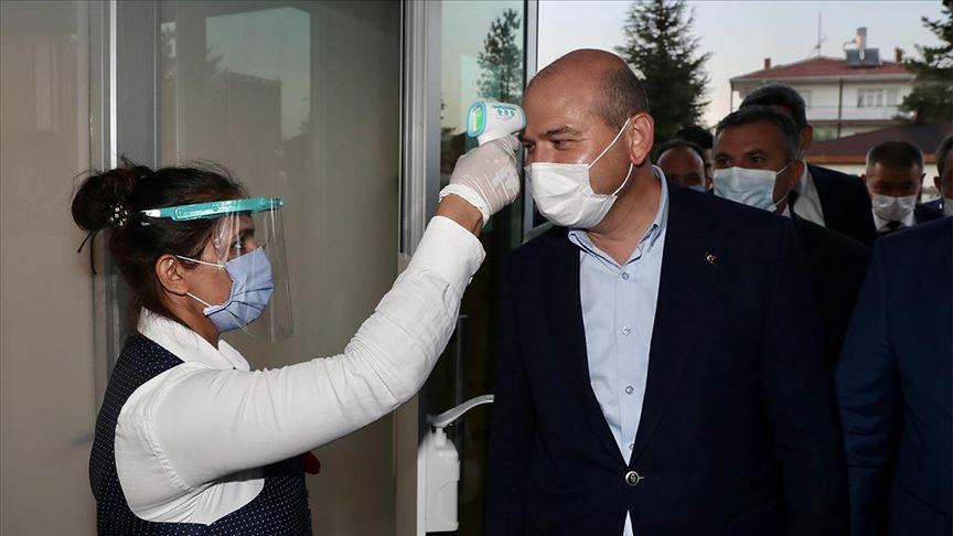 İçişleri Bakanı Süleyman Soylu 'düğün salonu' denetimine katıldı