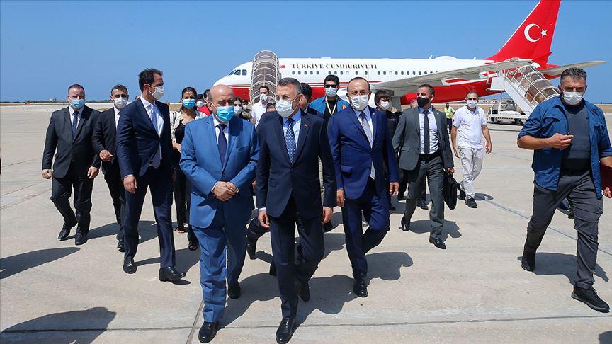 Cumhurbaşkanı Yardımcısı Fuat Oktay Lübnan'da..
