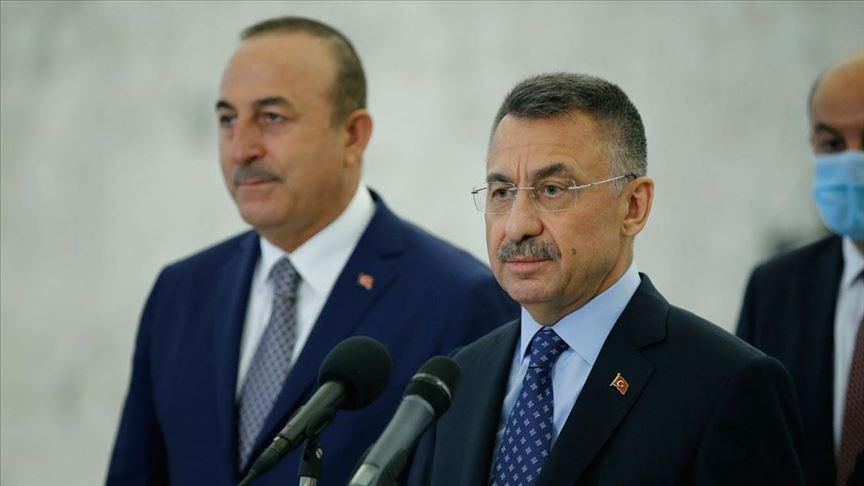 Oktay: Mersin Limanımızın Lübnan'ın hizmetinde olacağını ifade ettik