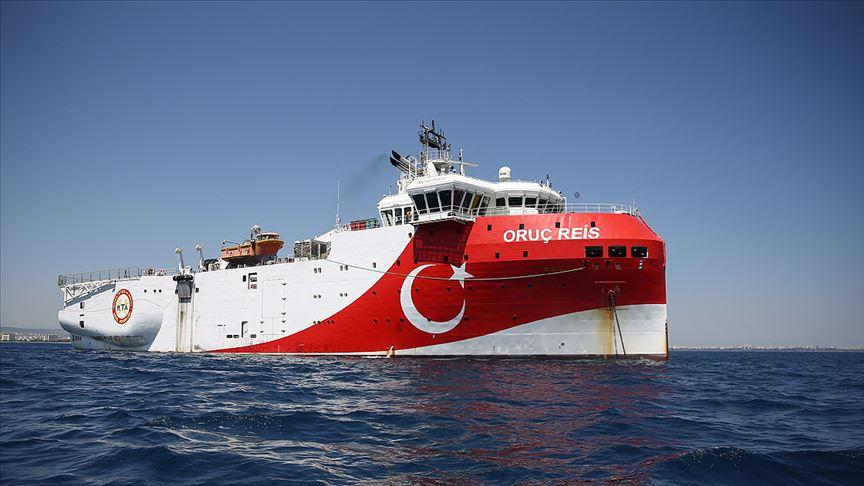 Bakan Dönmez: Oruç Reis Akdeniz'de çalışma yapacağı alana ulaştı!