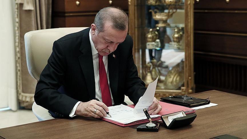 Cumhurbaşkanı Erdoğan 16 üniversiteye rektör atadı!