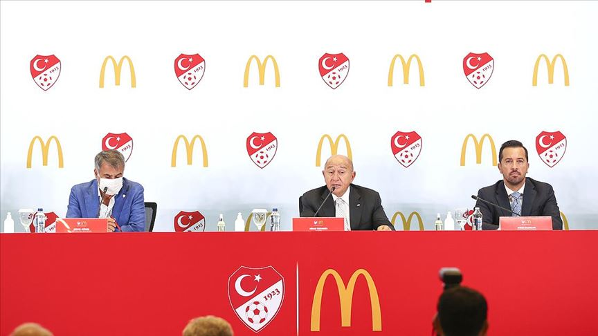 TFF ile McDonald's arasında sponsorluk anlaşması imzalandı