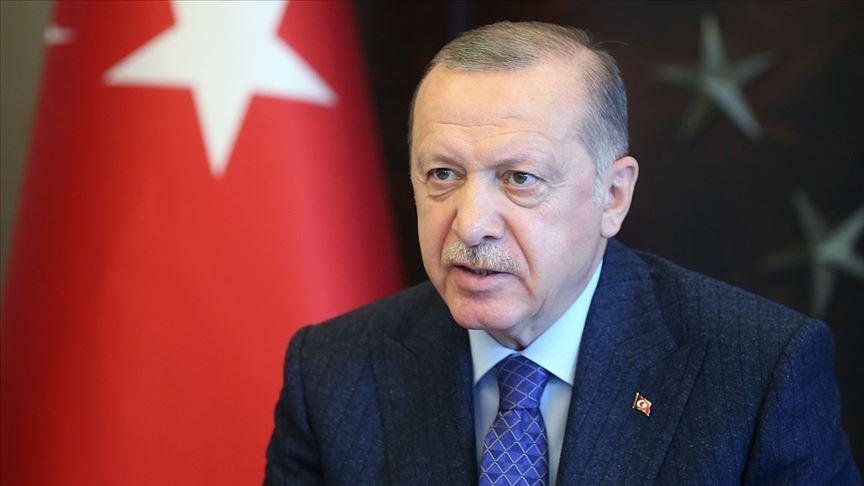 Erdoğan, Musevi vatandaşların Roş Aşana Bayramı'nı kutladı!