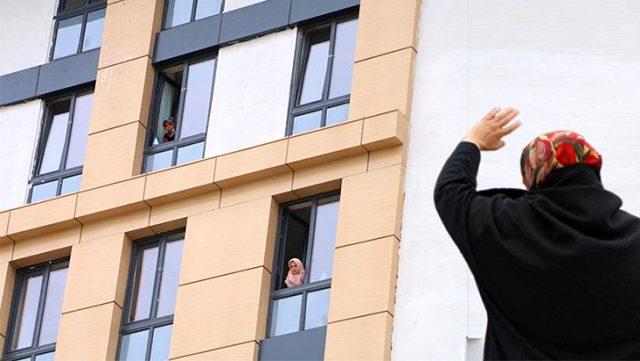 Çankırı'da karantina kurallarını ihlal eden 12 kişi yurda yerleştirildi