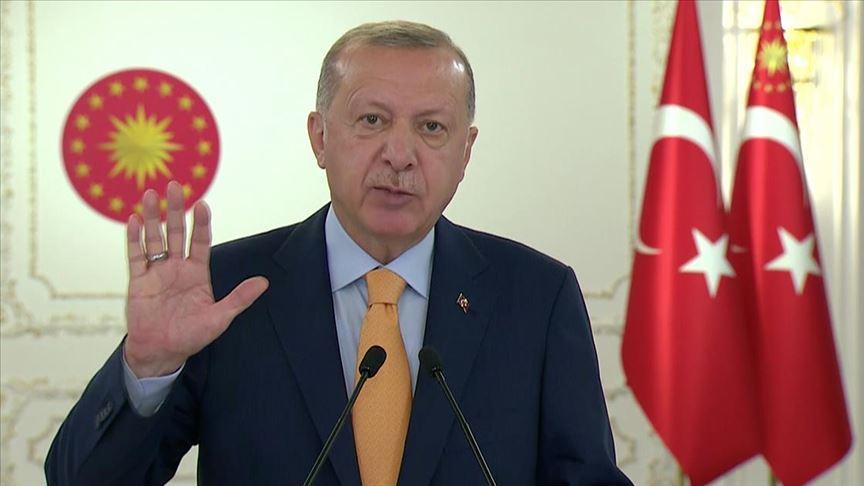 Cumhurbaşkanı Erdoğan '75. Birleşmiş Milletler Genel Kurulu'na konuştu..