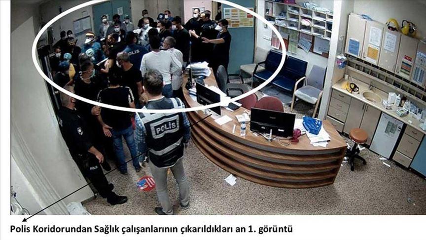 Keçiören Eğitim ve Araştırma Hastanesi'ndeki şiddete ilişkin yeni fotoğraflar ortaya çıktı!