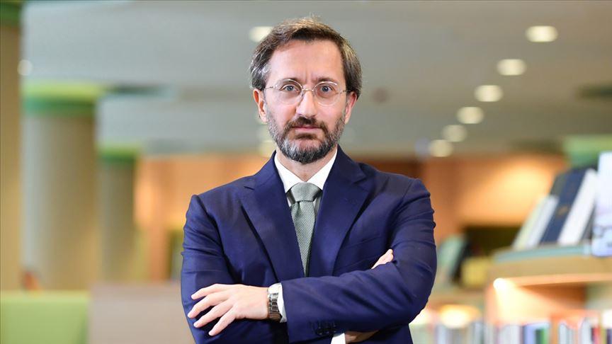 İletişim Başkanı Altun: Türkiye her zaman diplomasiden yana oldu