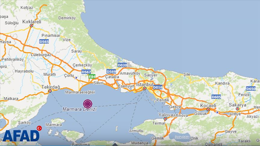 İstanbul 4.2'lik depremle sarsıldı!