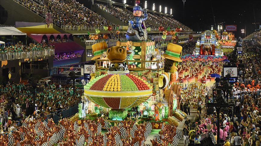 Rio Karnavalı geçit töreni Kovid-19 nedeniyle 2021'de yapılamayacak