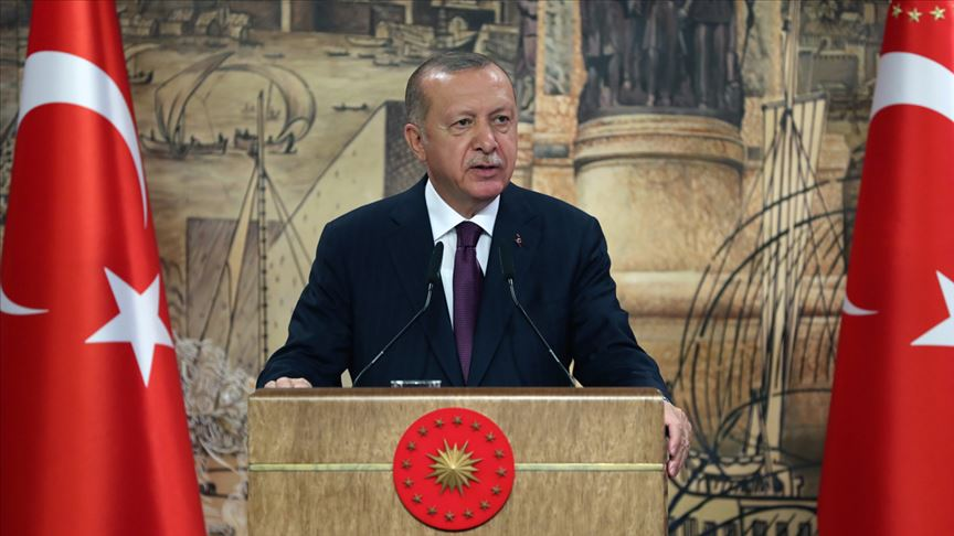Erdoğan: Türkiye, tüm imkanları ve tüm kalbiyle dost ve kardeş Azerbaycan'ın yanındadır