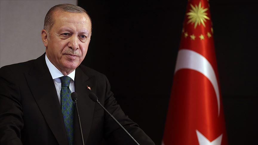 Cumhurbaşkanı Erdoğan: Kadına yönelik şiddete karşı mücadelemizi sıfır tolerans ilkesiyle yürütüyoruz