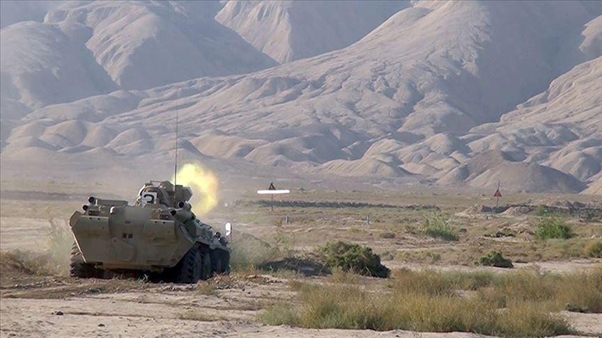 Azerbaycan ordusu Fuzuli kentini işgalden kurtardı!