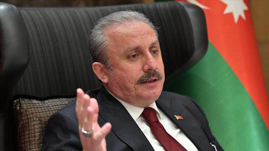 Şentop: Ermenistan savaş suçu işliyor