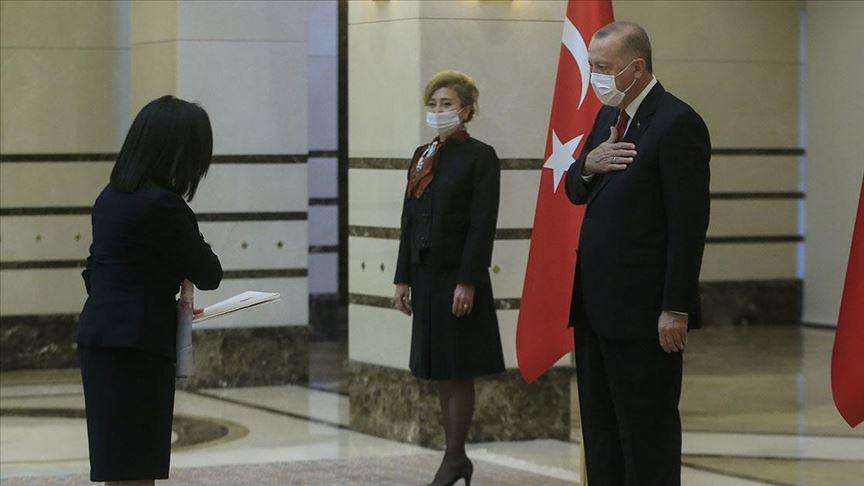 Malta'nın Ankara Büyükelçisi Cutajar'dan Cumhurbaşkanı Erdoğan'a güven mektubu