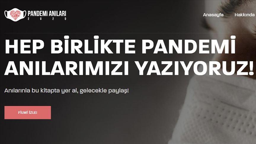 Kovid-19 süreci 'Pandemi Anıları' projesi ile gelecek nesiller için arşivlenecek!