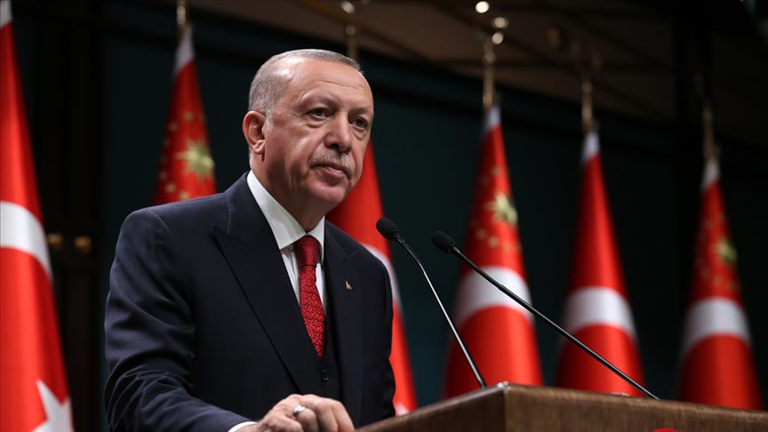 Erdoğan: Berlin'de inanç hürriyetini tümden yok sayan polis operasyonunu şiddetle kınıyorum