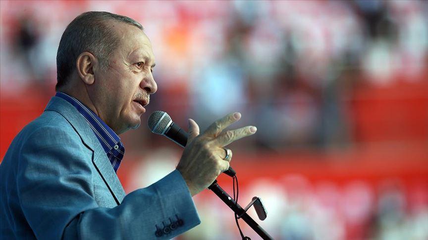 Erdoğan, Kayseri Kentsel Dönüşüm Anahtar Teslim Töreni'ne katılıyor