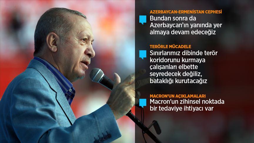 Erdoğan: Avrupa, Müslümanlara karşı açtığı cepheyle kendi sonunu hazırlıyor