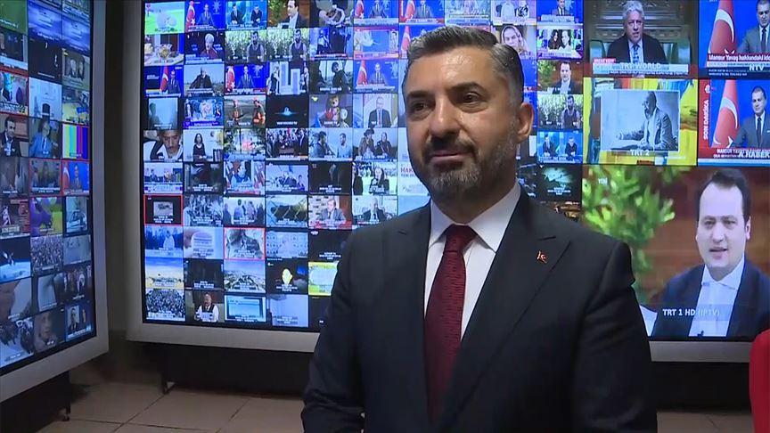RTÜK Başkanı Şahin: Sosyal medya sınırsız hakaret alanı değil